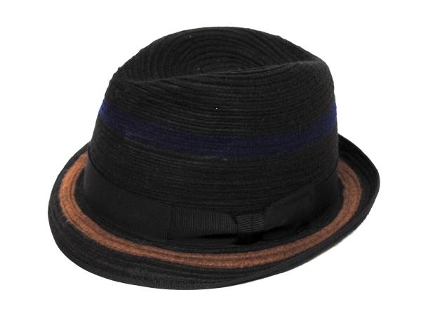 Braid Felt Hat BLK