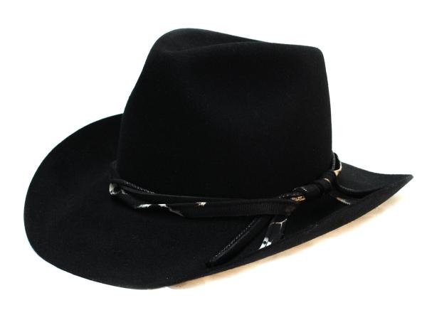 Felt Cowboy BLK