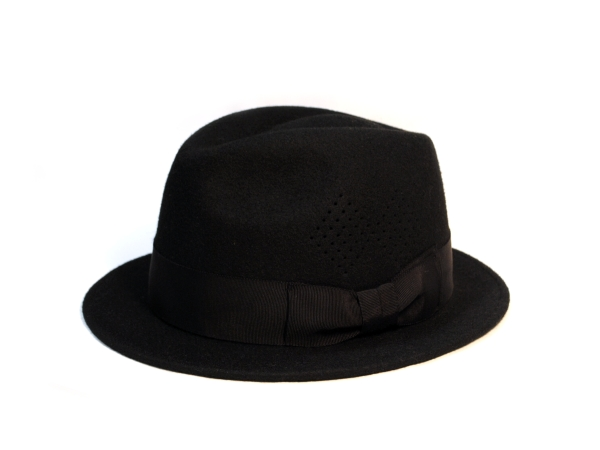 Rakudia Flat Hat BLK