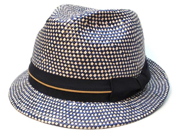 Panmix W Hat ナチュラル/ネイビー