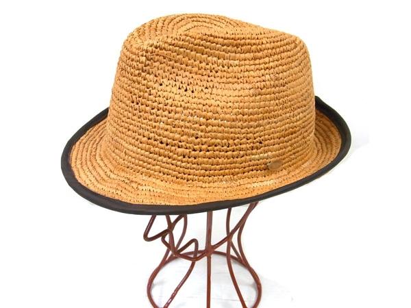 Folder Raffia Hat