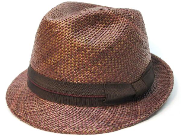 Panmix W Hat ワイン/ブラウン