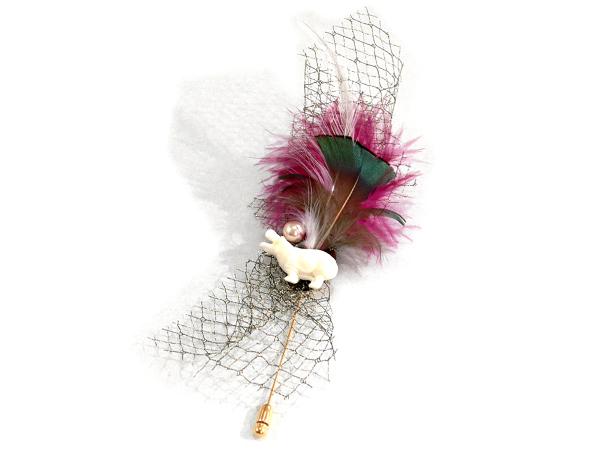 Animal Hatpin