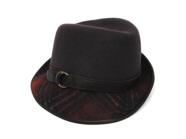 CHK Tilt Hat GRY