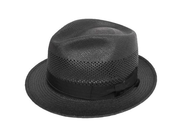 Panama Romeo (ブリム4.5cm) ブラック
