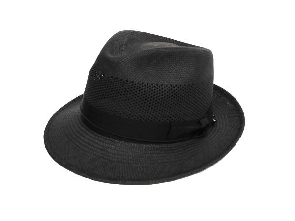 Panama Romeo (ブリム5.5cm) ブラック